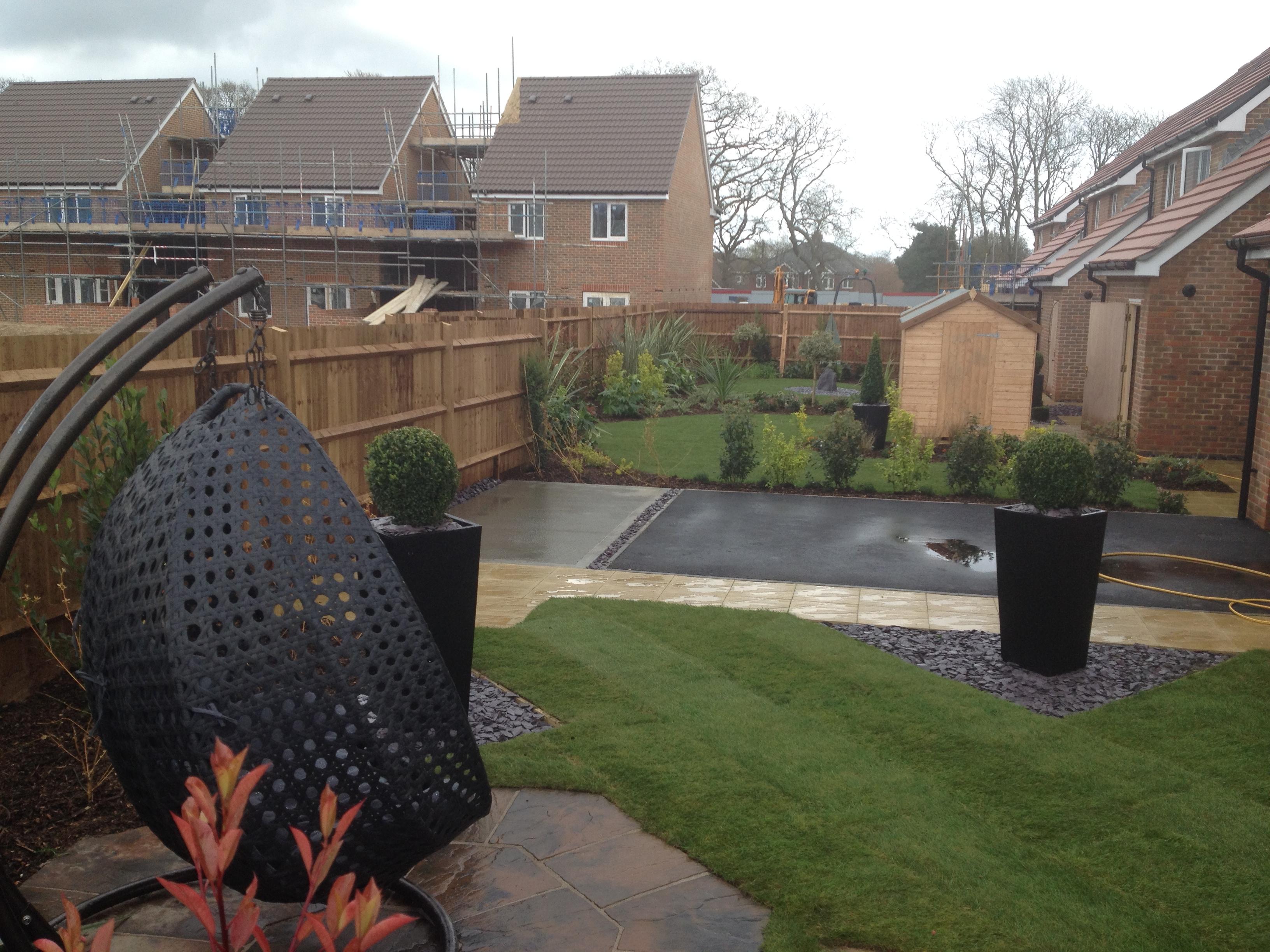 linden homes show home completion